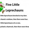Five Little Leprechauns photo of PDF