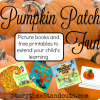 Pumpkin Patch Fun!  Picture Books and Printables