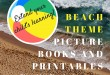 Beach Fun!  Beach theme picture books and printables for kids