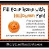 Halloween Theme Picture Book Treats!
