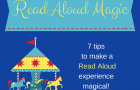 Make Your Child's Read Aloud Experience Magical- Like a Trip to a Theme Park