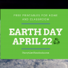 Earth Day Printables For Children Promote Environmental Awareness