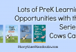 Lots of Prek Learning Opportunities with the Cows Can't Series