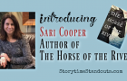 Introducing Sari Cooper, author of The Horse of the River