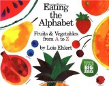 Learning letter activities, games, printables, and alphabet picture books including Eating the Alphabet