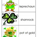 Free printable St. Patrick's Day Picture Dictionary from Storytime Standouts