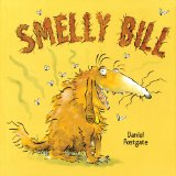 cover art for rhyming picture book Smelly Bill