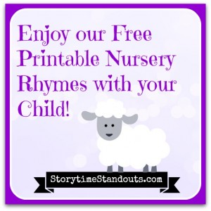 photo relating to Printable Nursery Rhymes identified as 6 No cost Printable Nursery Rhymes in direction of Percentage With Youthful Young children