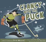 hockey picture book Clancy with the Puck