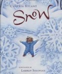 Three special picture books for young children including Snow