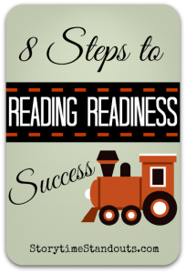 8 Steps to Reading Readiness Success - a Guide for Parents of Preschoolers