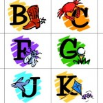 Free printable alphabets for homeschool, preschool and kindergarten
