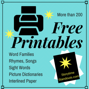 Free printables for parents and teachers