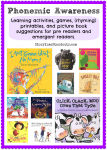 Rhyming Words, Phonemic Awareness at Storytime Standouts