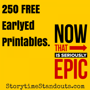 Storytime Standouts Offers More Than 250 Free Early Childhood Education Printables