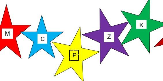 Consonant Game Board