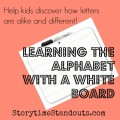 Learning the Alphabet with a White Board
