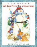 All You Need for a Snowman book cover image