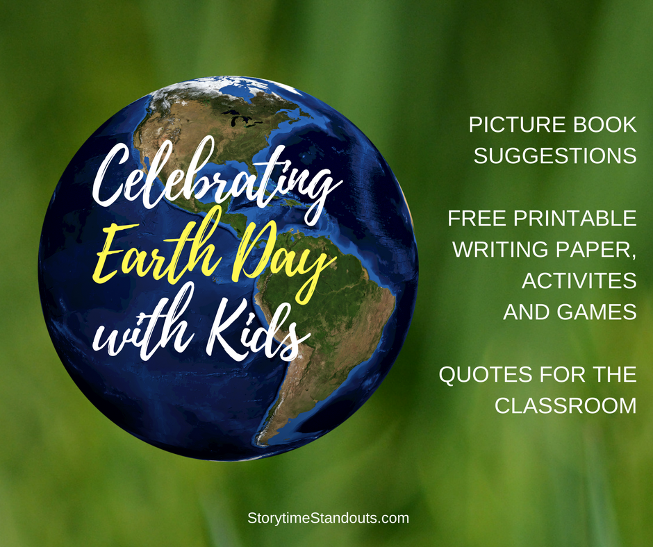 earth day resources for classroom and home use including picture books and printables