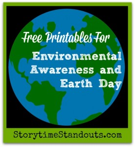 Free Printables for Environmental Awareness and Earth Day from Storytime Standouts