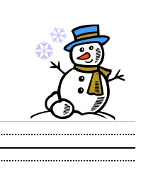 Storytime Standouts #free #printable Snowman writing paper for kids #kindergarten #prek