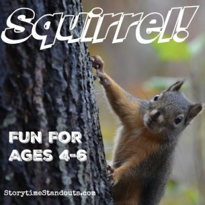 Squirrel Theme Activities for Preschool, Homeschool and Kindergarten