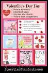 Valentine's Day Theme Printables and Picture Book Recommendations from Storytime Standouts