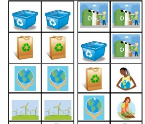 image of a eco friendly green printable for children