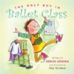 cover art for anti bullying picture book The Only Boy in Ballet Class
