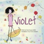Children's book about family diversity, Violet