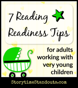 7 Reading Readiness Tips For Working With Very Young Children