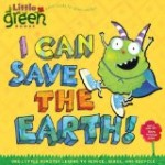 cover art for recycling picture book I Can Save the Earth