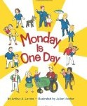 Children's book about family diversity, Monday is One Day