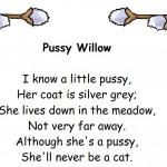 Pussy Willow Poem Free Printable from Storytime Standouts