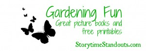 gardening theme picture books printables preschool kindergarten.