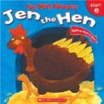 9 Ways to Help a Beginning Reader Succeed including Jen the Hen, a good book for a beginning reader