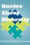 Storytime Standouts Shares Quotes About Diversity