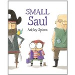 cover art for anti bullying picture book Small Saul
