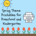 Storytime Standouts shares free printables for preschool and kindergarten