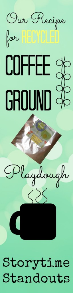 Recycled Coffee Ground Playdough Recipe