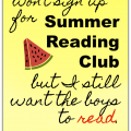 Ways to encourage summer reading without joining a library program