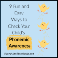 Ways to Measure and Develop Phonemic Awarenss in Young Children