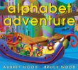 Storytime Standouts recommends activities for learning letters and alphabet books including Alphabet Adventure
