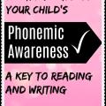Check your child's phonemic awareness