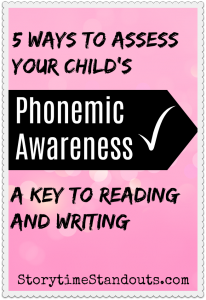 Check your child's phonemic awareness and readiness for reading and spelling with these questions