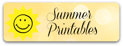 Summer Early Learning Printables