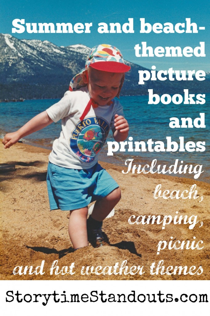 Summer, Camping And Beach Theme Picture Books And Printables