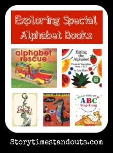 5 Special Alphabet Books for Preschool and Kindergarten