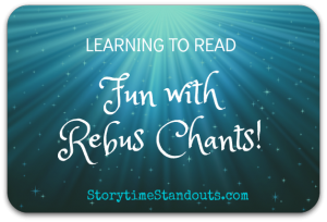 Rebus chants for children who are beginning to read