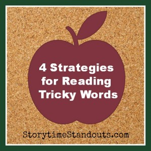 Beginning Readers should learn to use these strategies to read difficult words